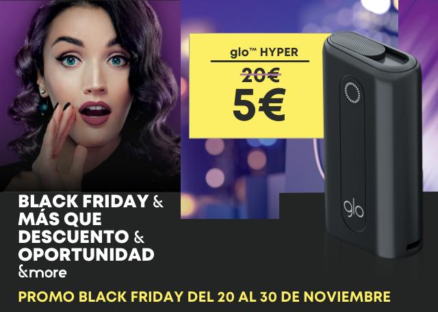 Promo black friday del 20 al 30 de noviembre